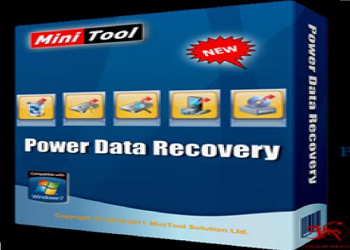 برنامج MiniTool Power Data Recovery لاستعادة الملفات المحذوفة